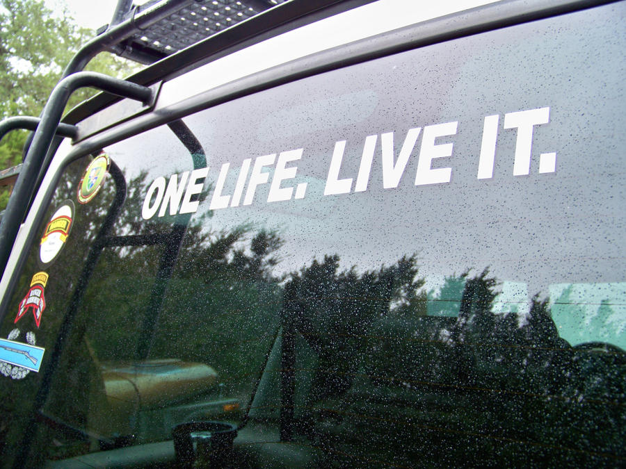 ONE LIFE-LIVE IT