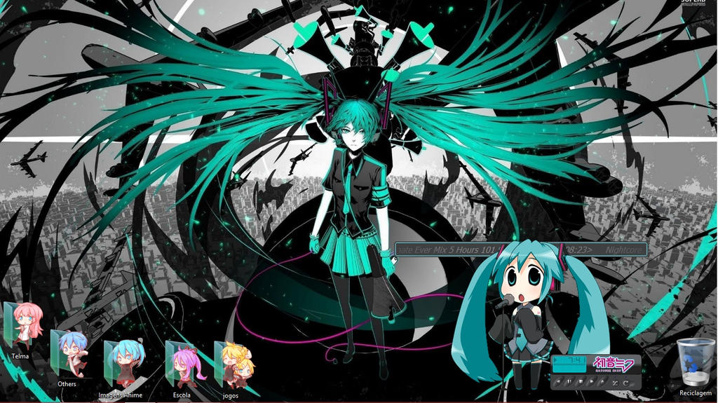 My Desktop by ninihaha