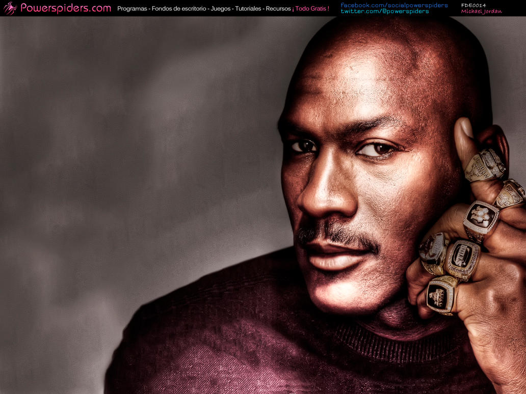 michael jordan by powerspiders dwdzf