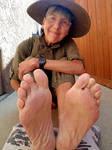 Aunt Ellen soft luscious ticklish soles