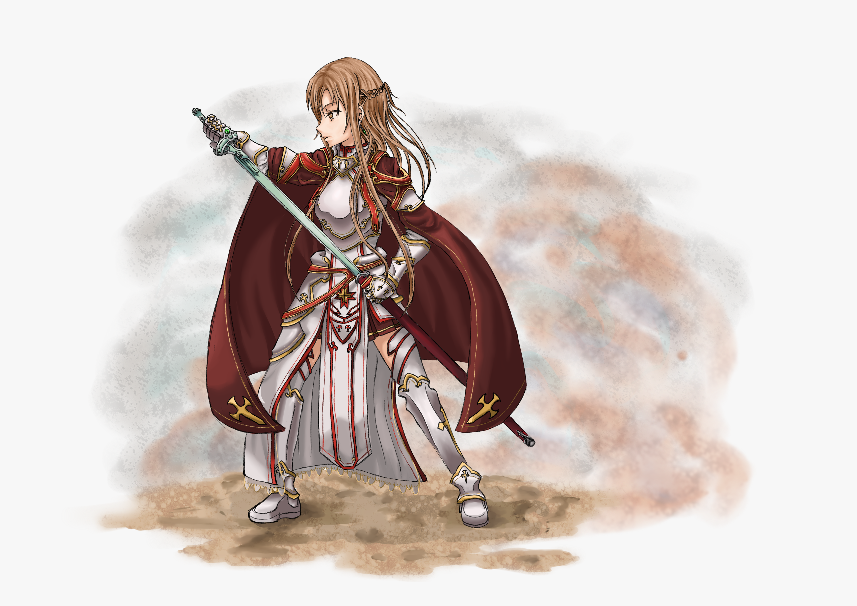 Knight Asuna Alicization By Z3phyra On Deviantart