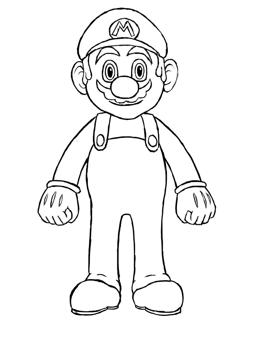 how to draw the power up lock from mario