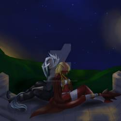 Peaceful night [Gift art /fanart]