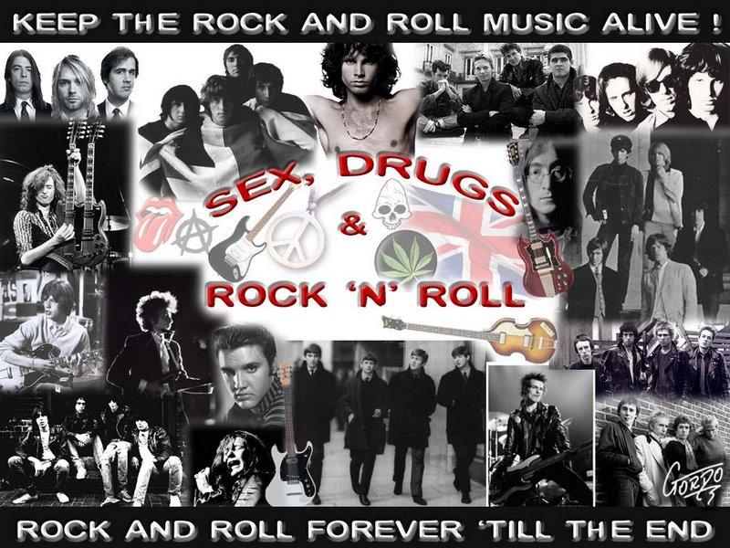 Rock roll music sex