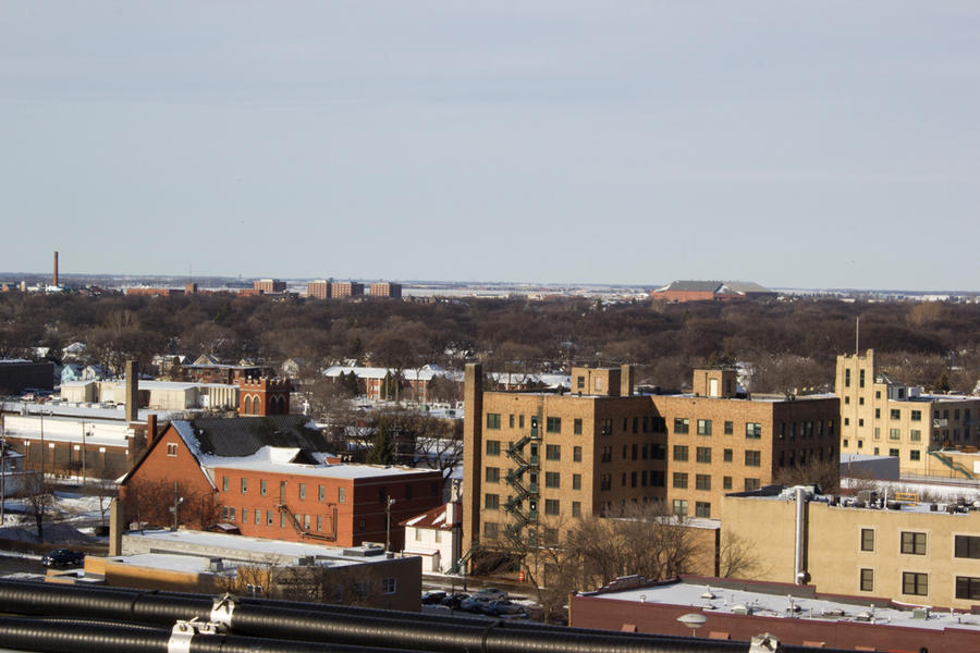 Fargo Skyline by KyleOlson86