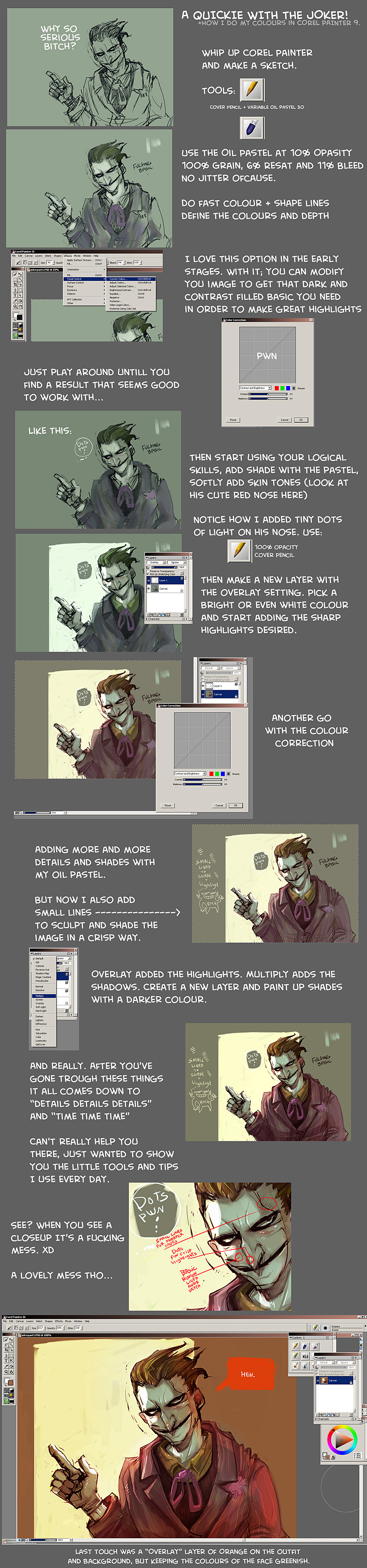 A quickie with the joker by Fealasy