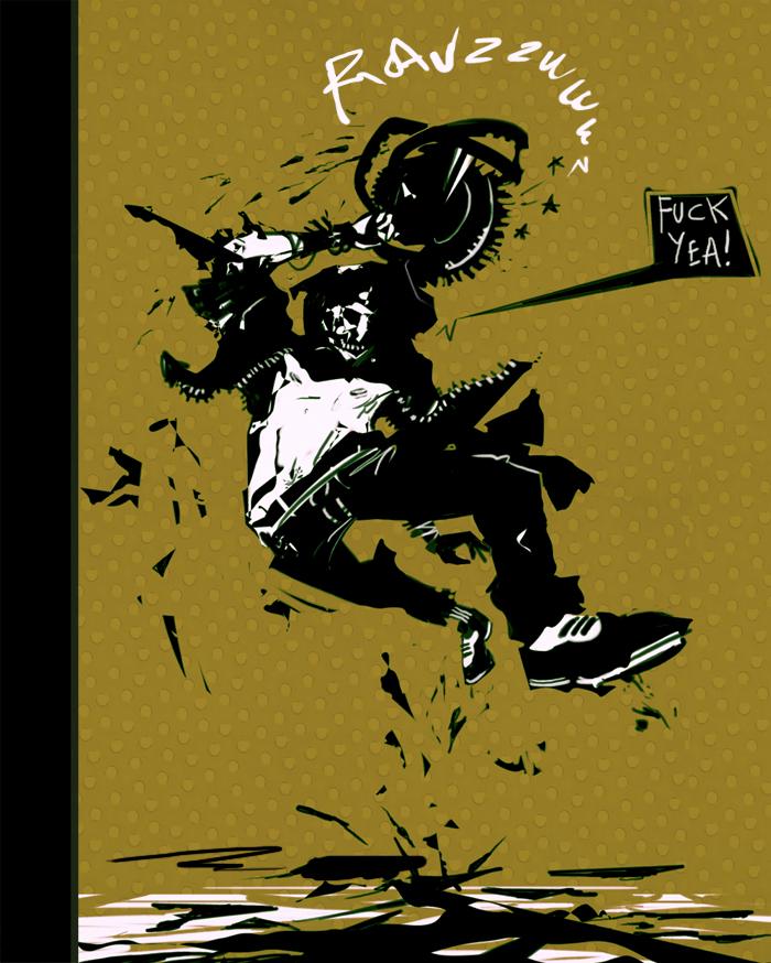 Buzzsaw Jump by Fealasy