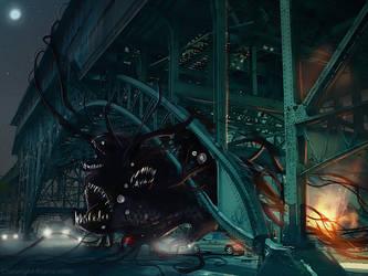 Under the bridge... by Fealasy