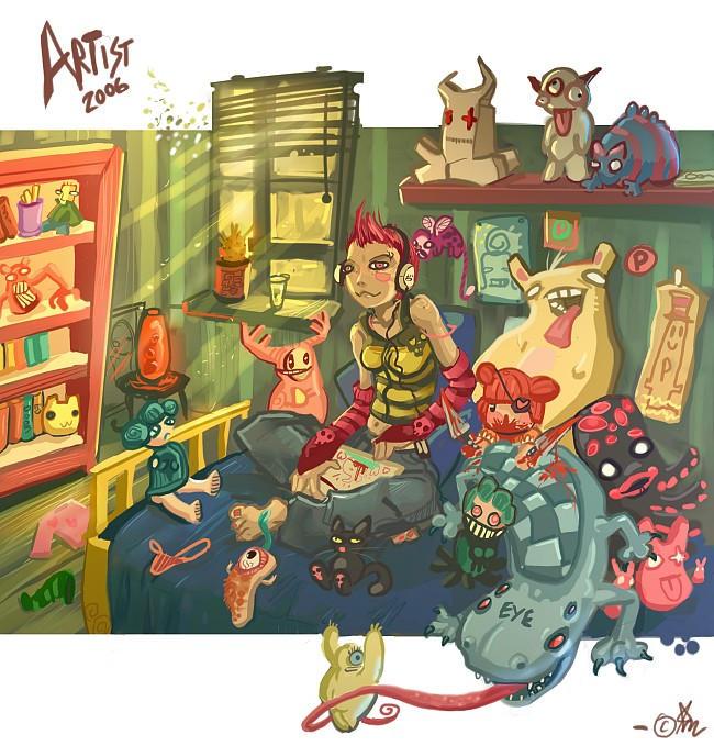 Artist 2006 by Fealasy