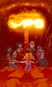 Let's do the atom bomb dance.