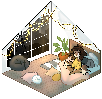 leilani's pixel bedroom by blushqin