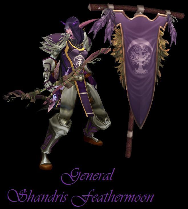Shandris Feathermoon General_Shandris_Feathermoon_by_LordAzkera