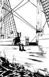 Mechanic Mouse Chillin on Da Plank by lookehereguy