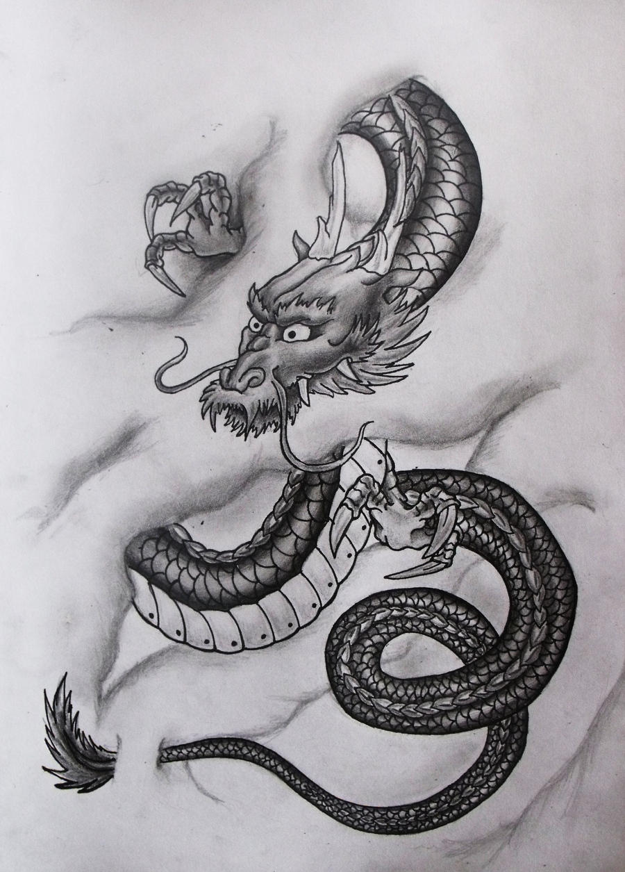 Japanese Dragon By Ifinch On DeviantArt