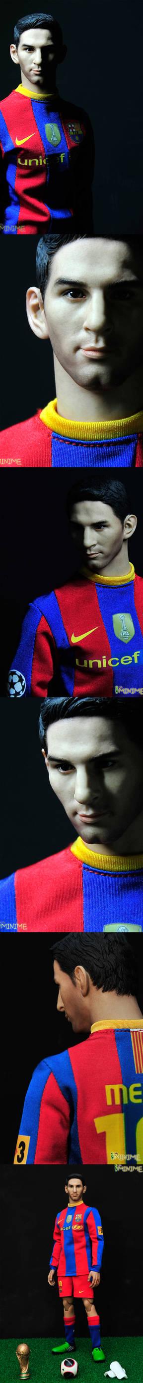 handmade messi(Barcelona football player)