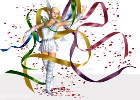 Mayday Ribbon dance by lukara9999