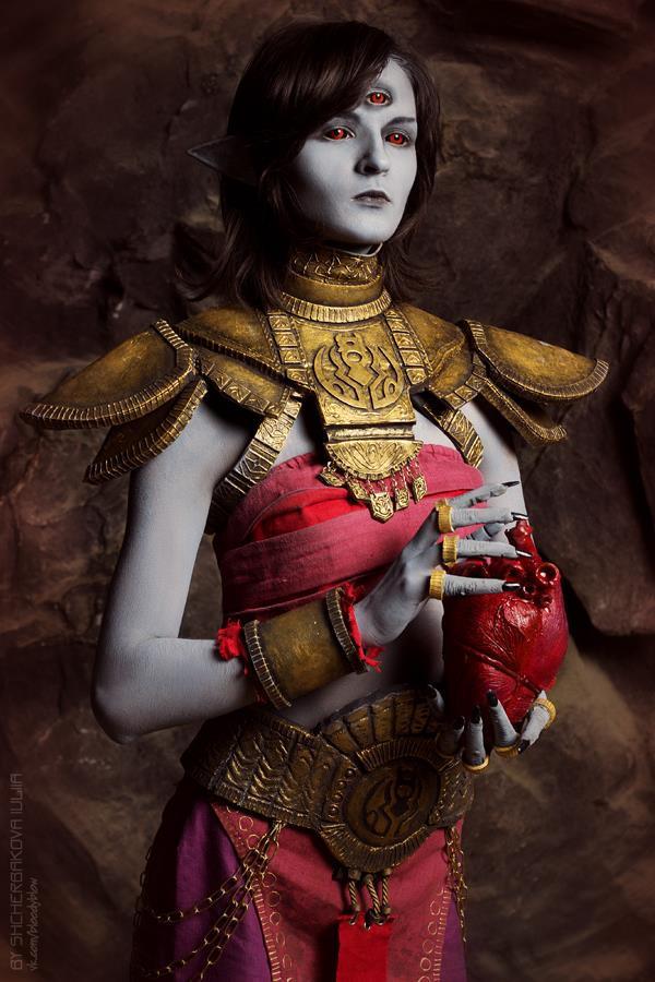 Dagoth Ur cosplay Morrowind