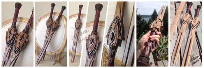 Trinimac Short Weapon, The Elder Scrolls Online by WhiteDemon19