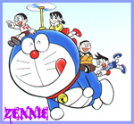 Doraemon by Zennie