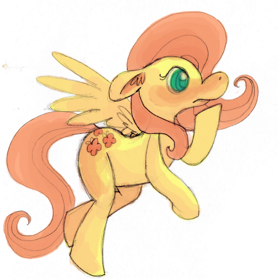 Fluttersketch by Glidel