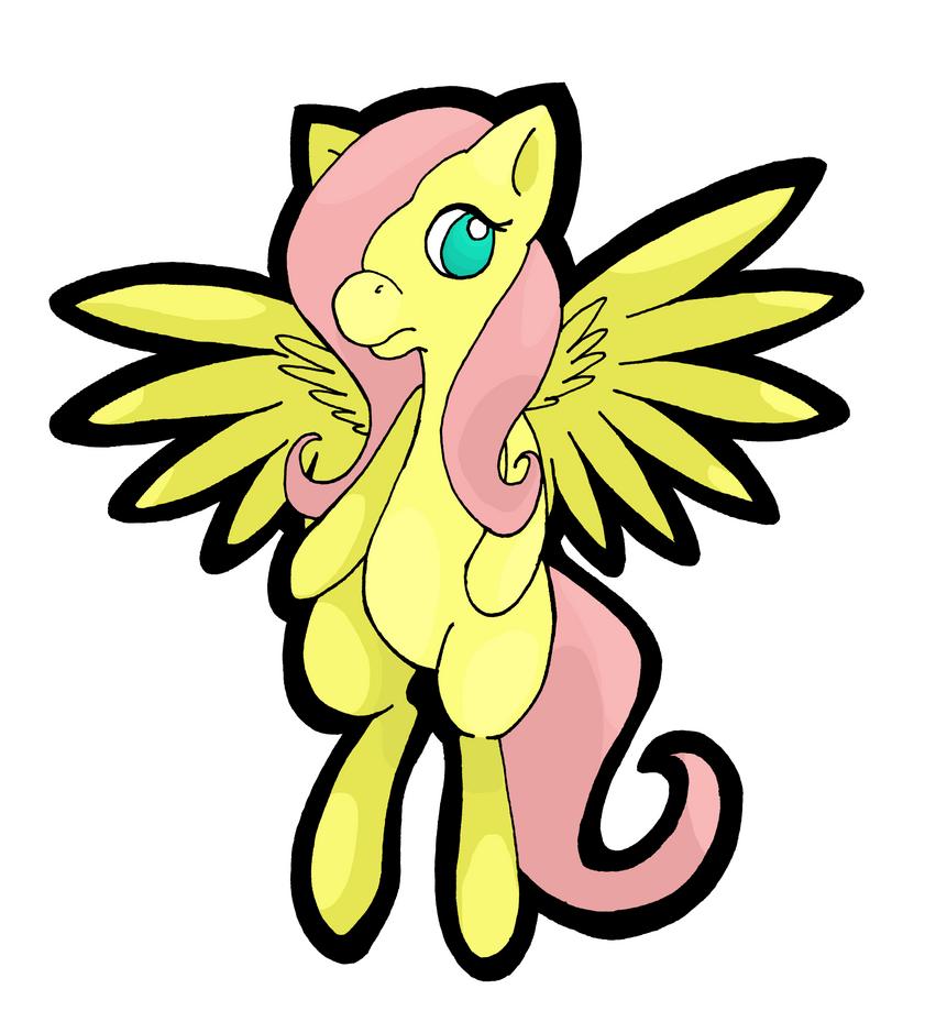 Fluttershy by Glidel