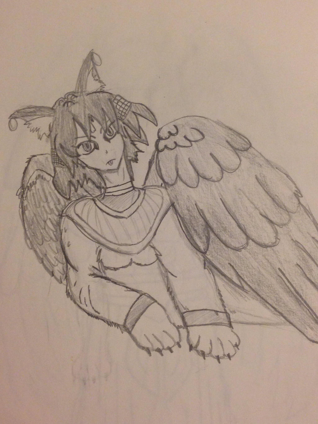 Sphinx anime sketch by...
