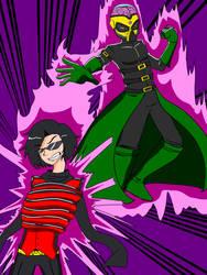 Malleable Man vs Psycho Master  by ImpelUniversalHero