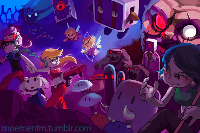 Cave Story by moementm