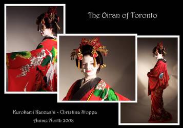 The Oiran of Toronto by myloko
