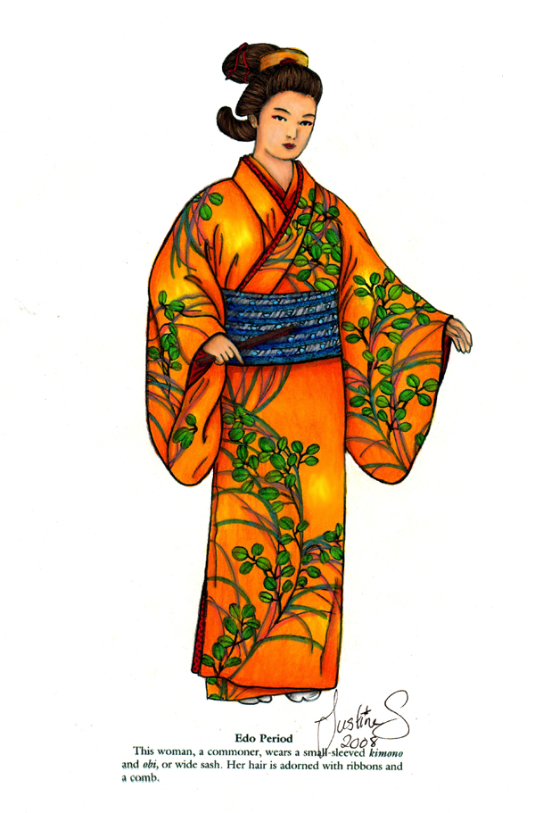 Edo Commoner Woman by myloko