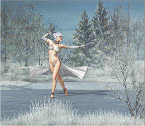 Last dance of the winter fairy by Snowbyte