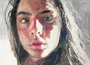 Abigail - colored pencil