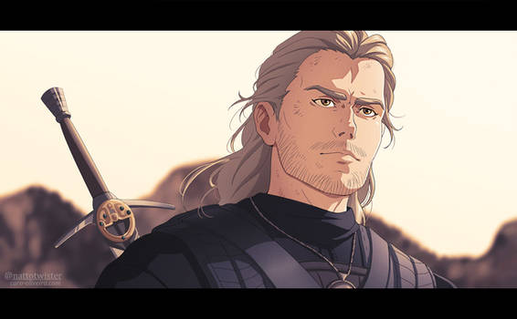 Geralt of Rivia animeee