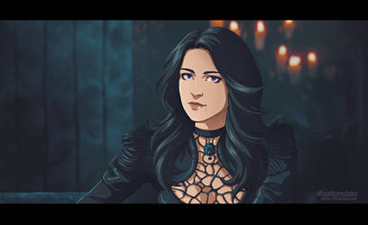 Yen Witcher Anime by CaroOllie