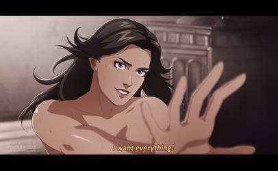 Yennefer - The Witcher Anime by Caro-Oliveira