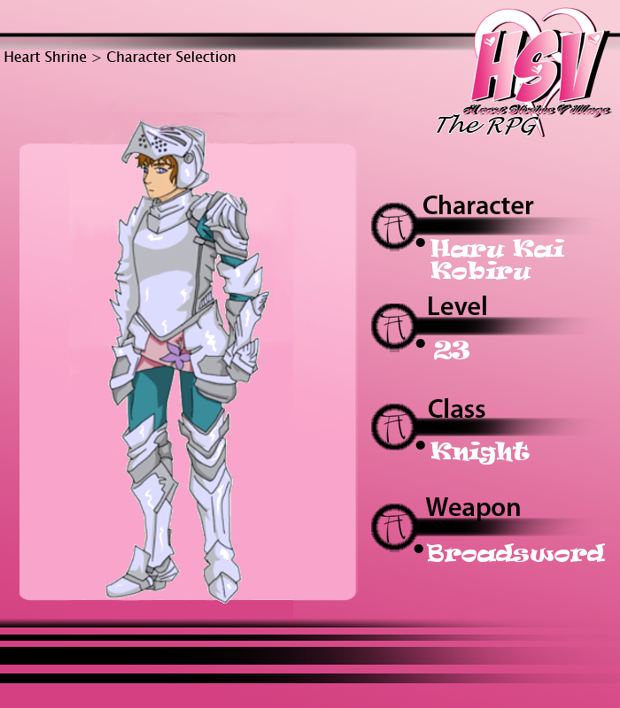 HSV - Haru RPG by Wolffie12