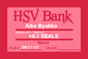 Bank Note - Aiko, Who Dunnit Battle 2 by Wolffie12