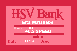 Bank Note - Eita, Who Dunnit Battle 2 by Wolffie12