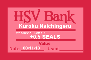 Bank Note - Kuroku, Who Dunnit Battle 1 by Wolffie12