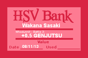 Bank Note - Wakana, Who Dunnit Battle 3 by Wolffie12