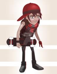 Skateboard Kid by HumanNature84