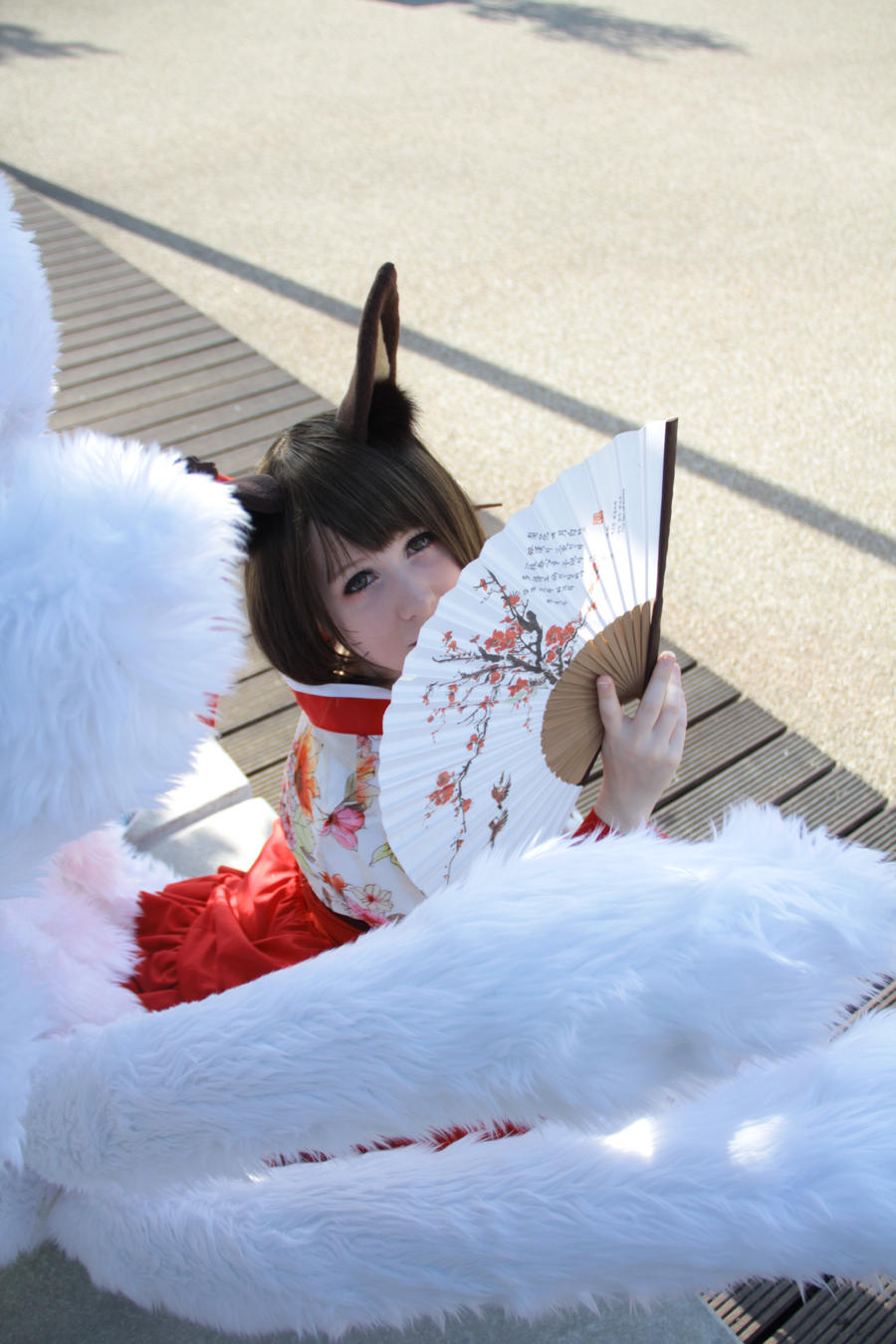 Ahri Dynasty Cosplay II by Kairi-i