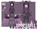 [OPEN] ADOPTABLE 02 by CandelCry by CandelCry