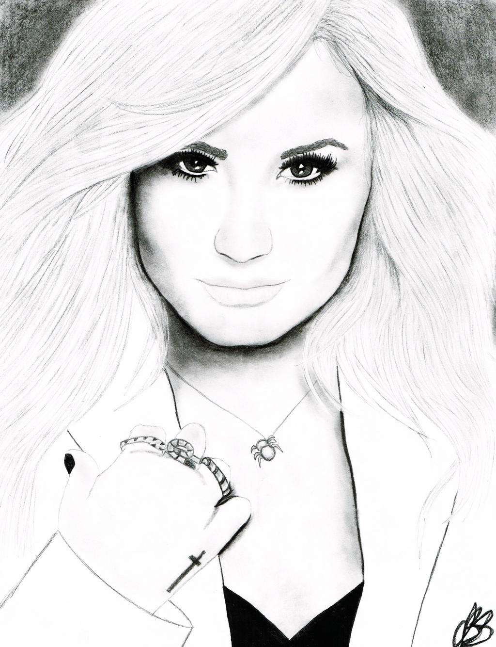 Coloring Pictures Of Demi Lovato 110