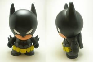 Batman Munny by xf4LL3n