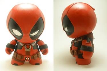 Deadpool Munny by xf4LL3n