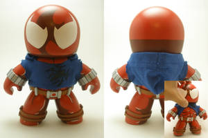 Scarlet Spider Mighty Mugg by xf4LL3n