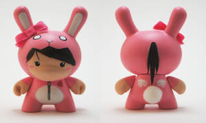Bunny Suit Girl 'V' Dunny by xf4LL3n