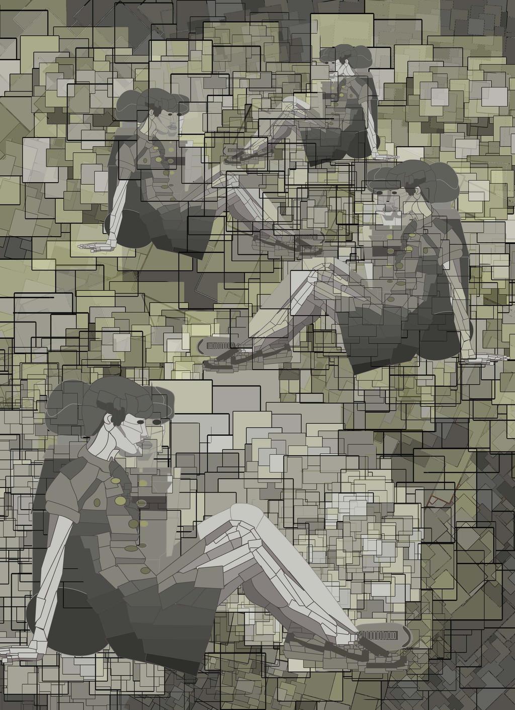 A - publicidad, cubismo (PS)
