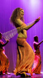 Bellydance with cane